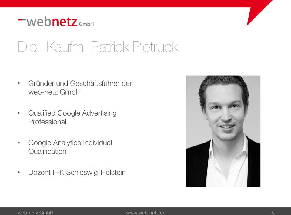 web-netz GmbH Qualified Google Advertising Professional