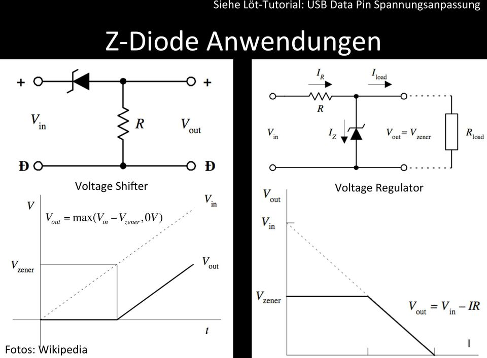 Voltage ShiLer Voltage Regulator V
