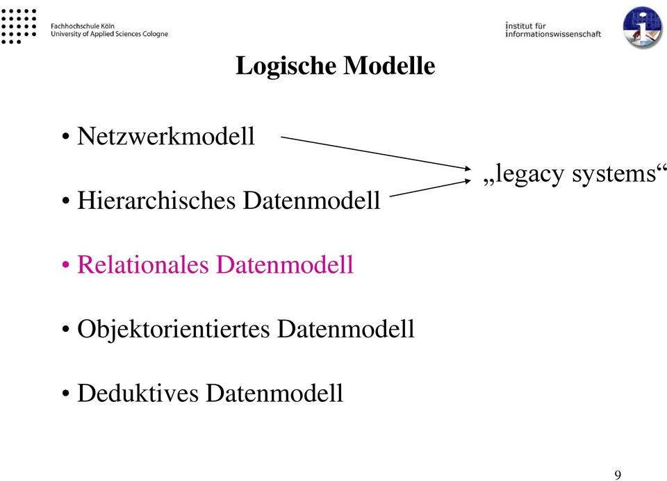 systems Relationales Datenmodell
