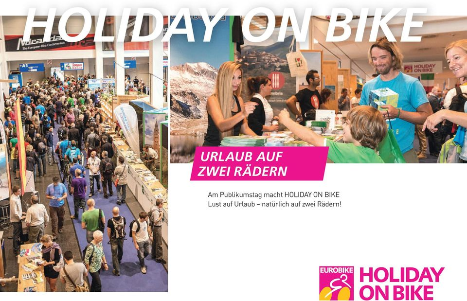 macht HOLIDAY ON BIKE Lust
