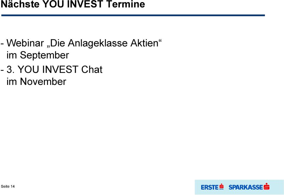 Aktien im September - 3.
