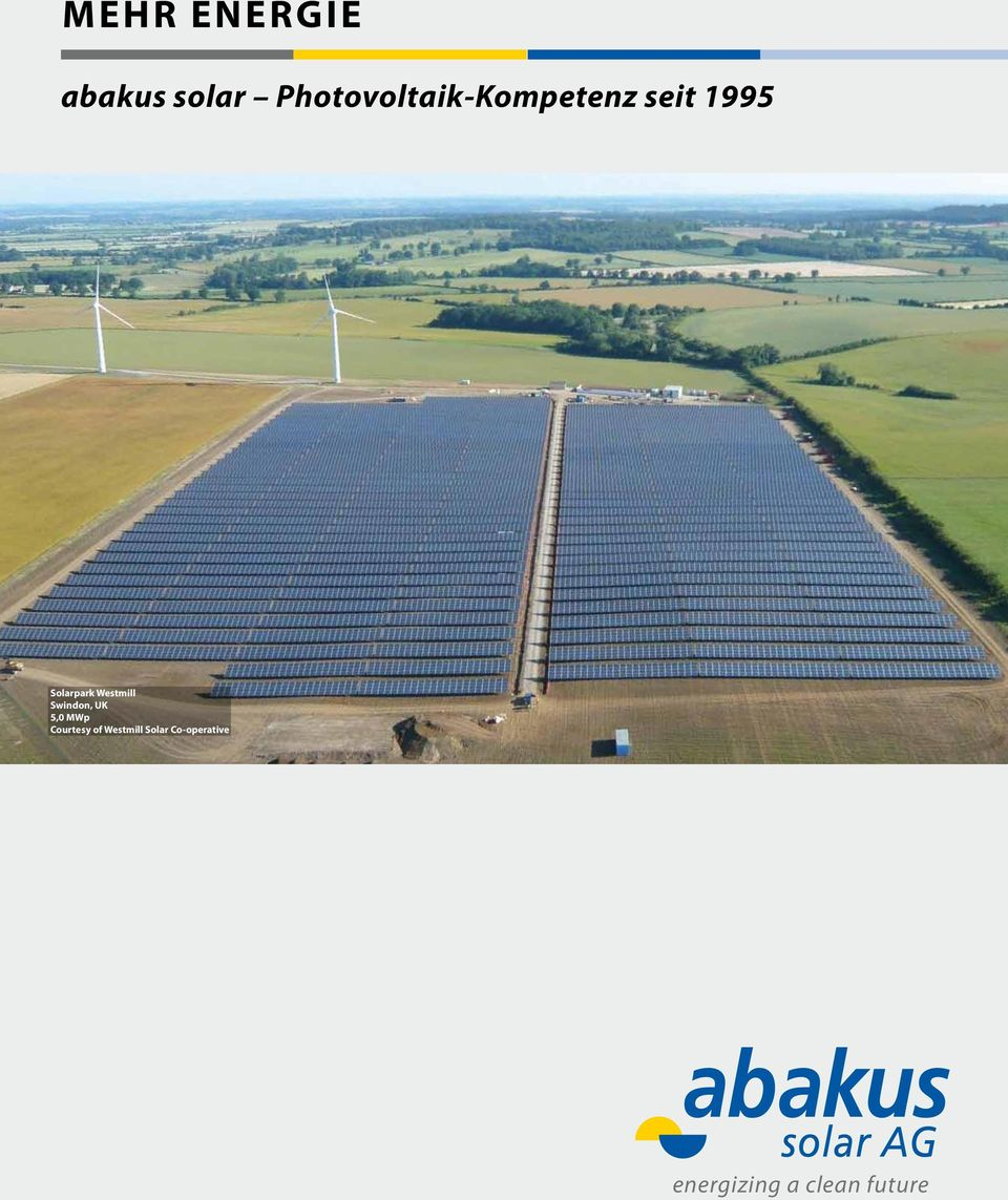 Solarpark Westmill Swindon, UK 5,0