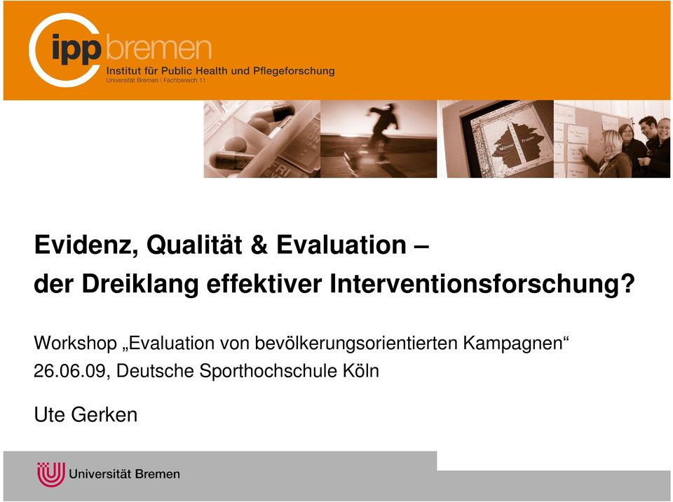Workshop Evaluation von
