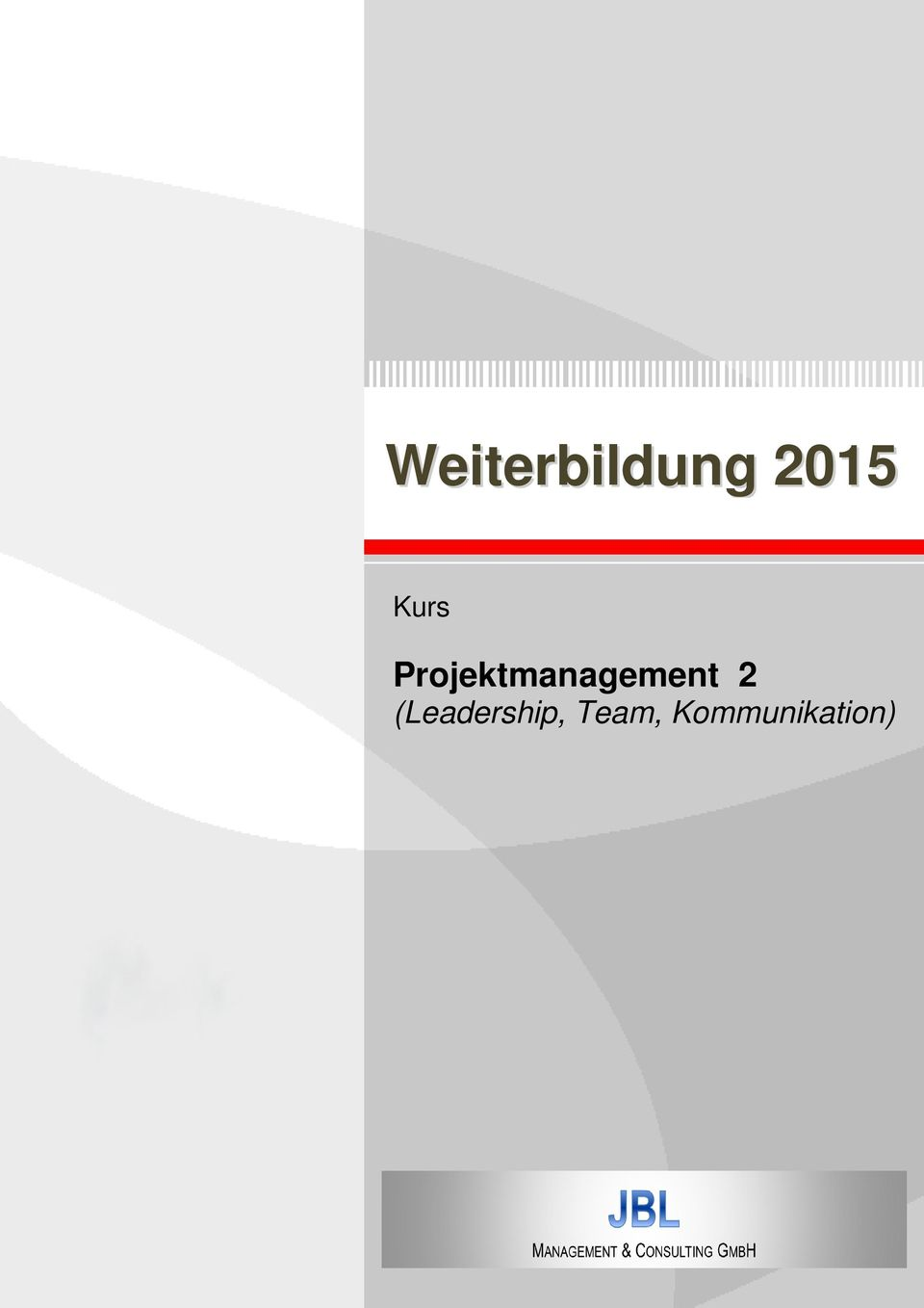 Projektmanagement 2