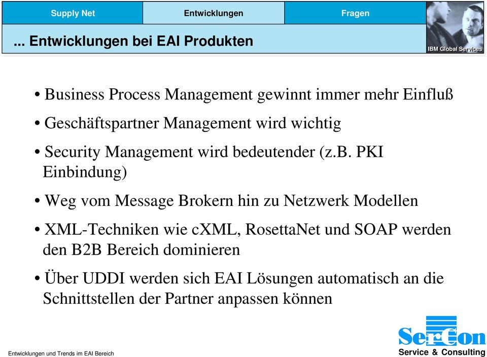 Management wird wichtig Security Management wird be