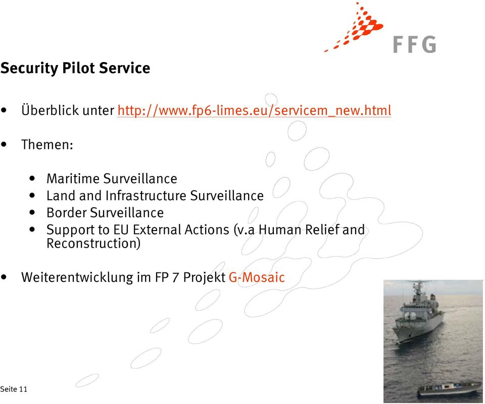 html Themen: Maritime Surveillance Land and Infrastructure Surveillance