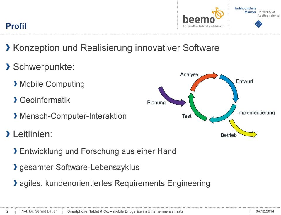 Hand gesamter Software-Lebenszyklus agiles, kundenorientiertes Requirements Engineering 2