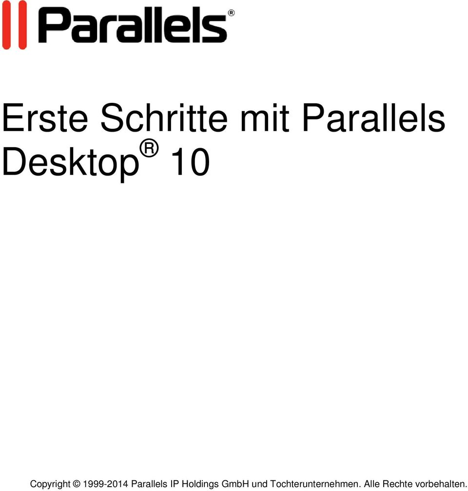 Parallels IP Holdings GmbH und