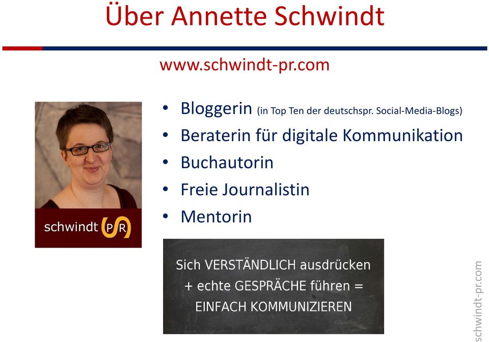 Social-Media-Blogs) Beraterin für digitale