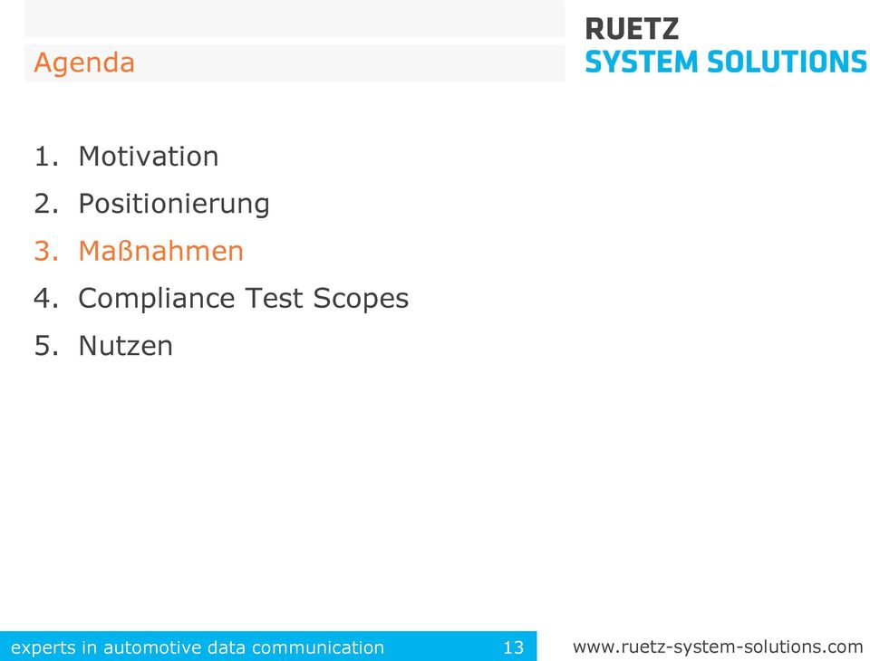 Compliance Test Scopes 5.