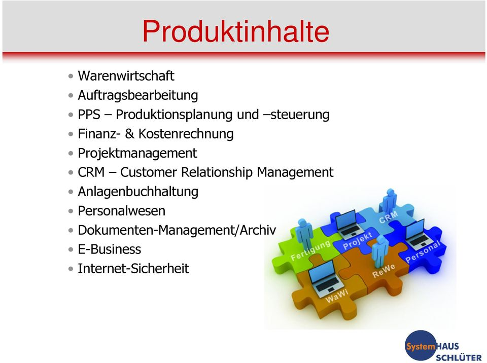 Projektmanagement CRM Customer Relationship Management
