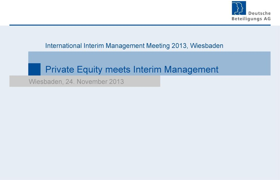 Wiesbaden Private Equity meets