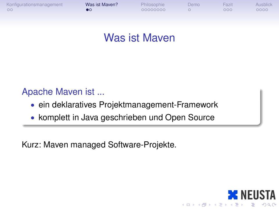 Projektmanagement-Framework komplett in