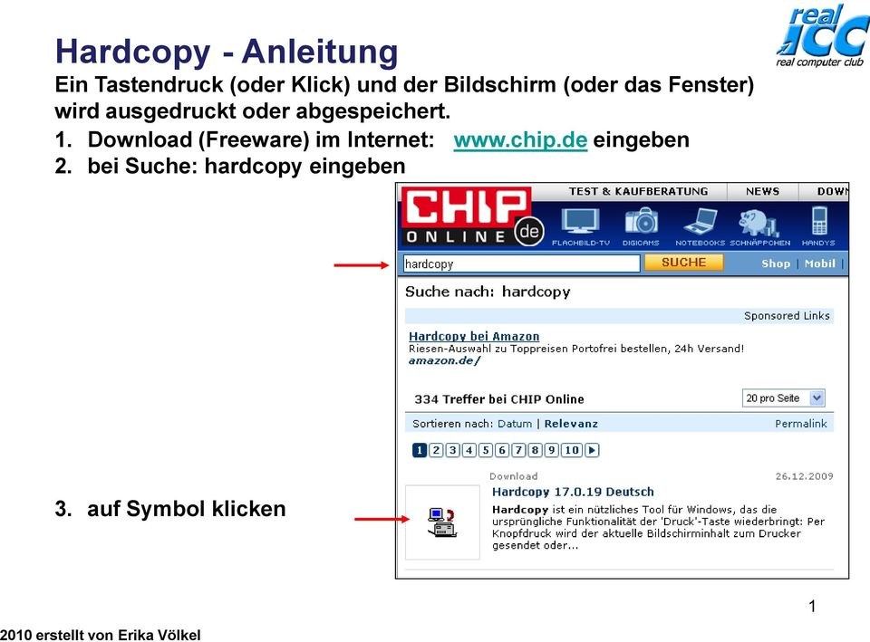 Download (Freeware) im Internet: www.chip.