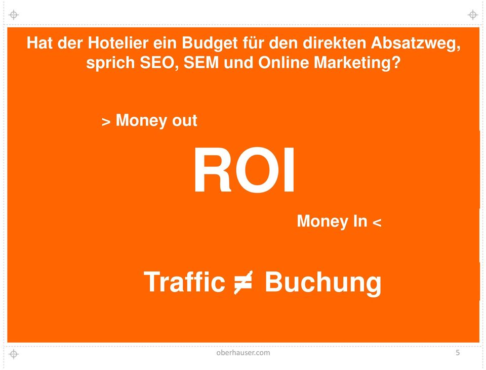 und Online Marketing?