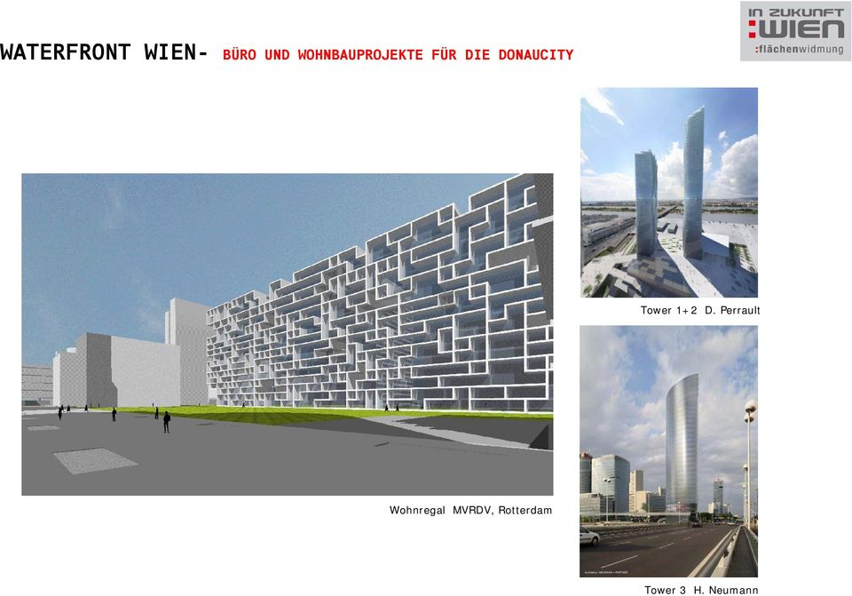DONAUCITY Tower 1+2 D.