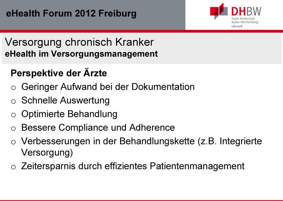 Compliance und Adherence o Verbe