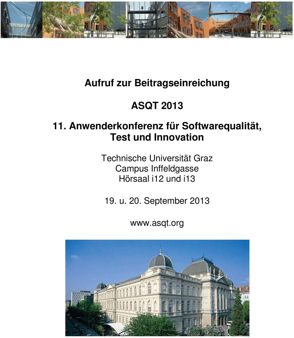 Innovation Technische Universität Graz Campus