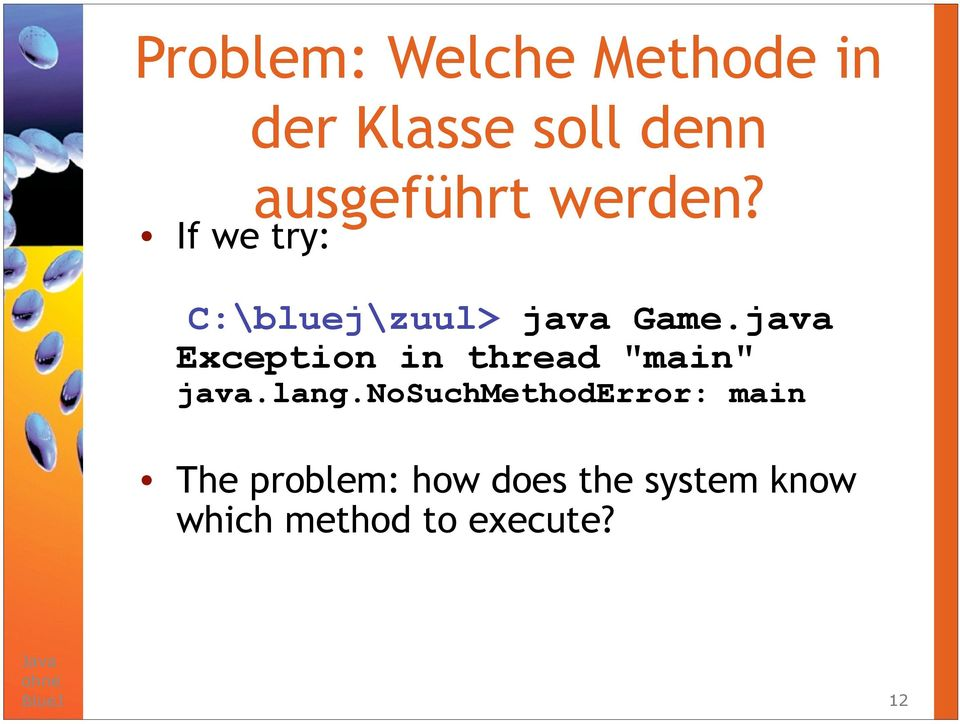 "java Exception in thread ""main"" java.lang."
