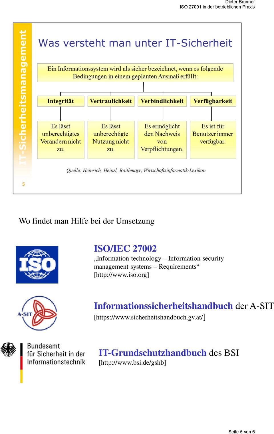 org] Informationssicherheitshandbuch der A-SIT [https://www.