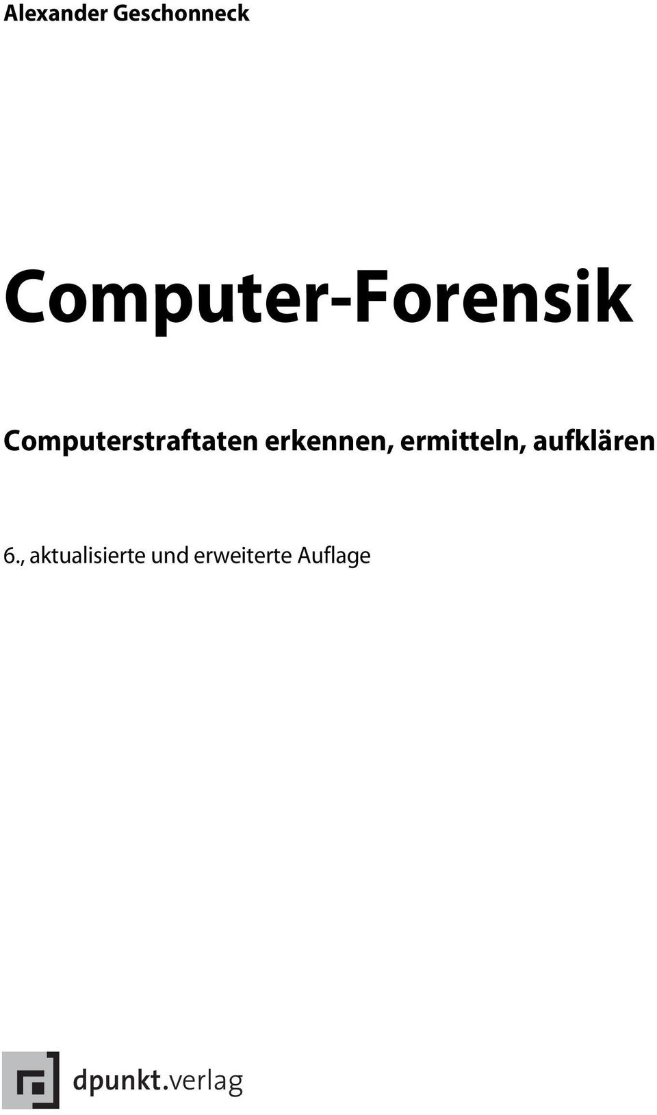 Computerstraftaten erkennen,
