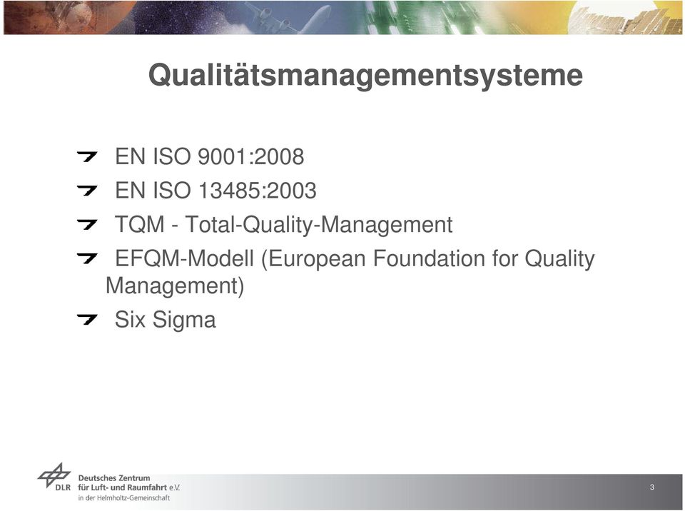 Total-Quality-Management EFQM-Modell