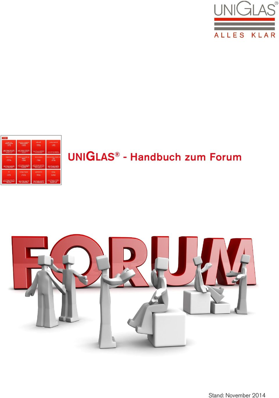 Forum Stand: