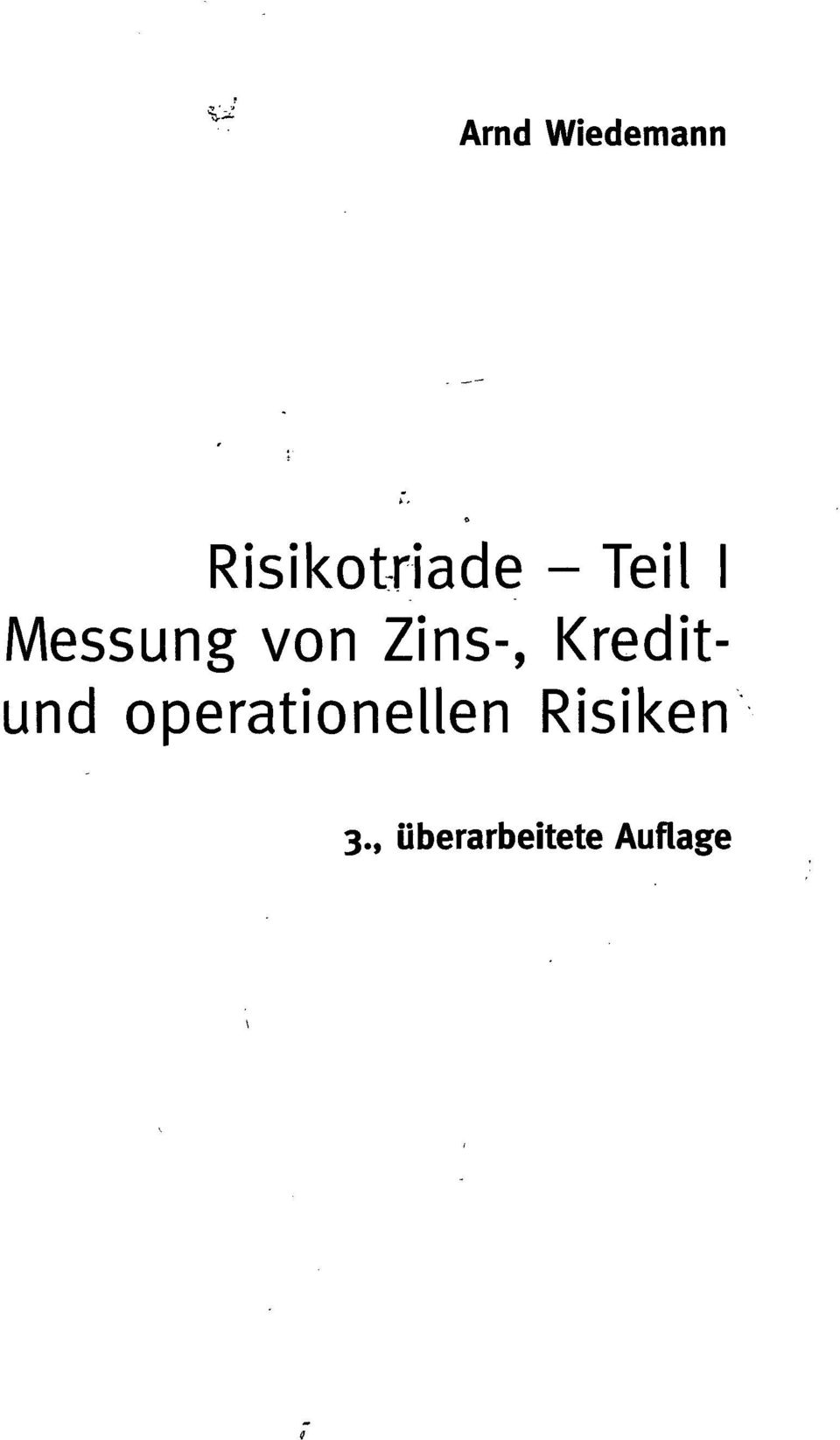 Kreditund operationellen