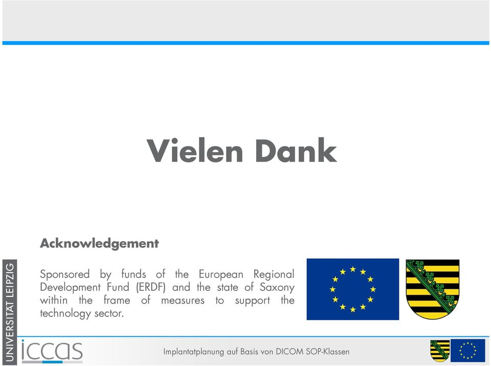 Fund (ERDF) and the state of Saxony within