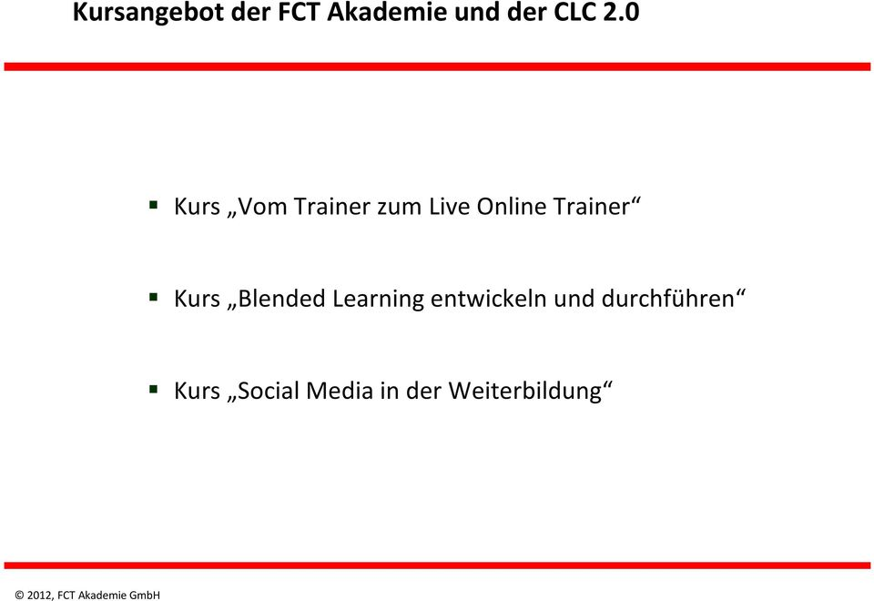 Kurs Blended Learning entwickeln und