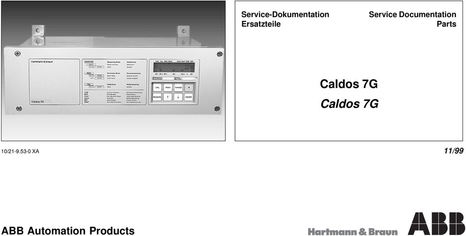 Documentation Parts Caldos 7G