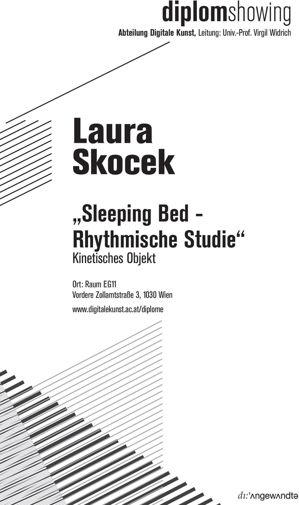 Virgil Widrich Laura Skocek Sleeping Bed - Rhythmische