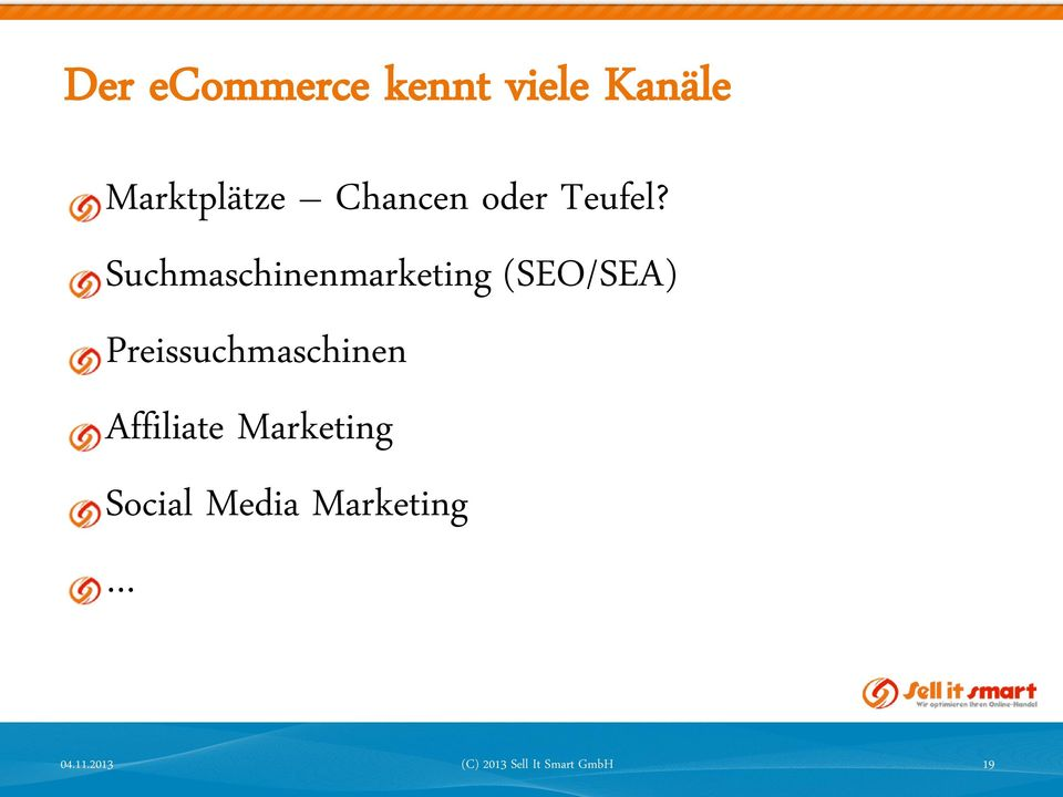 Suchmaschinenmarketing (SEO/SEA)