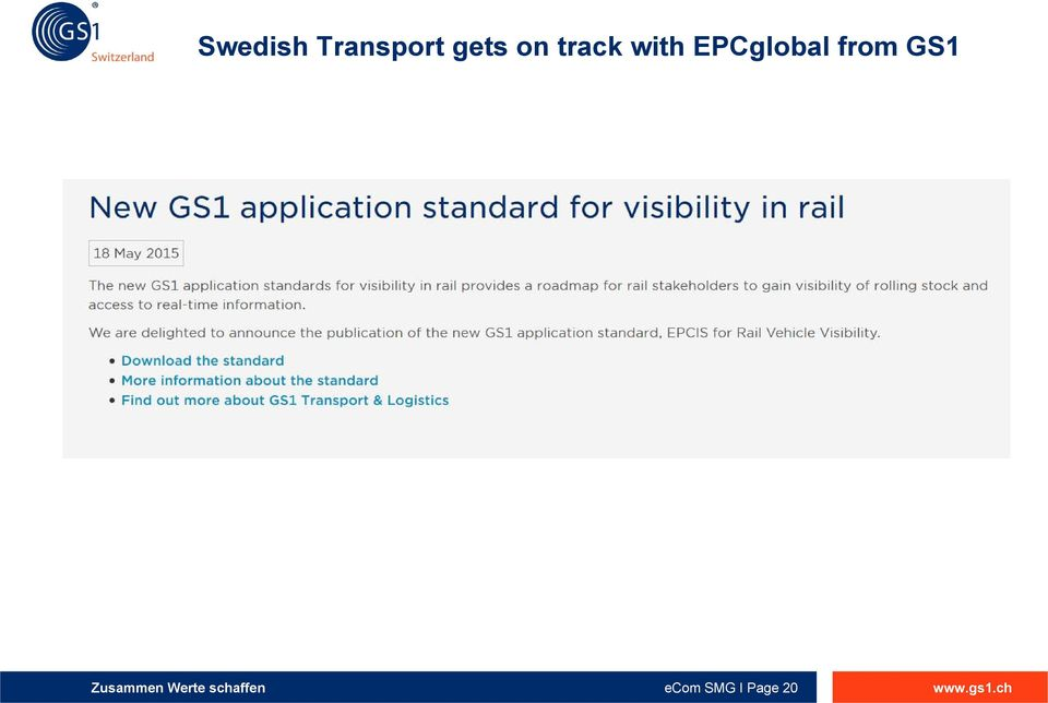 EPCglobal from GS1