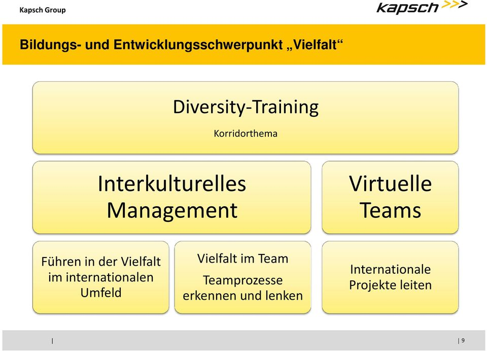 Virtuelle Teams Führen in der Vielfalt im internationalen