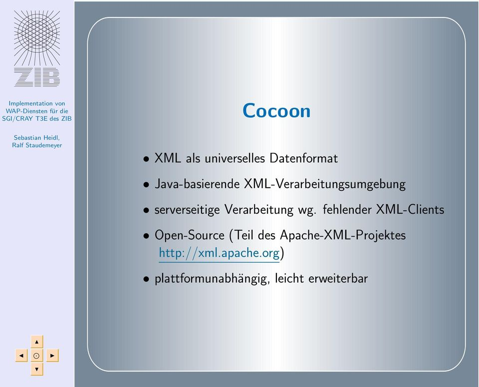 fehlender XML-Clients Open-Source (Teil des