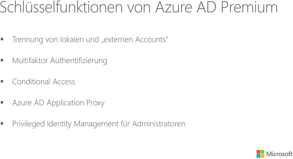 Authentifizierung Conditional Access Azure AD
