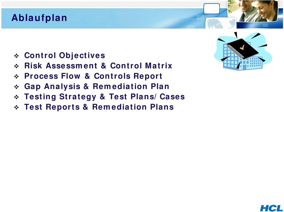 Gap Analysis & Remediation Plan Testing Strategy