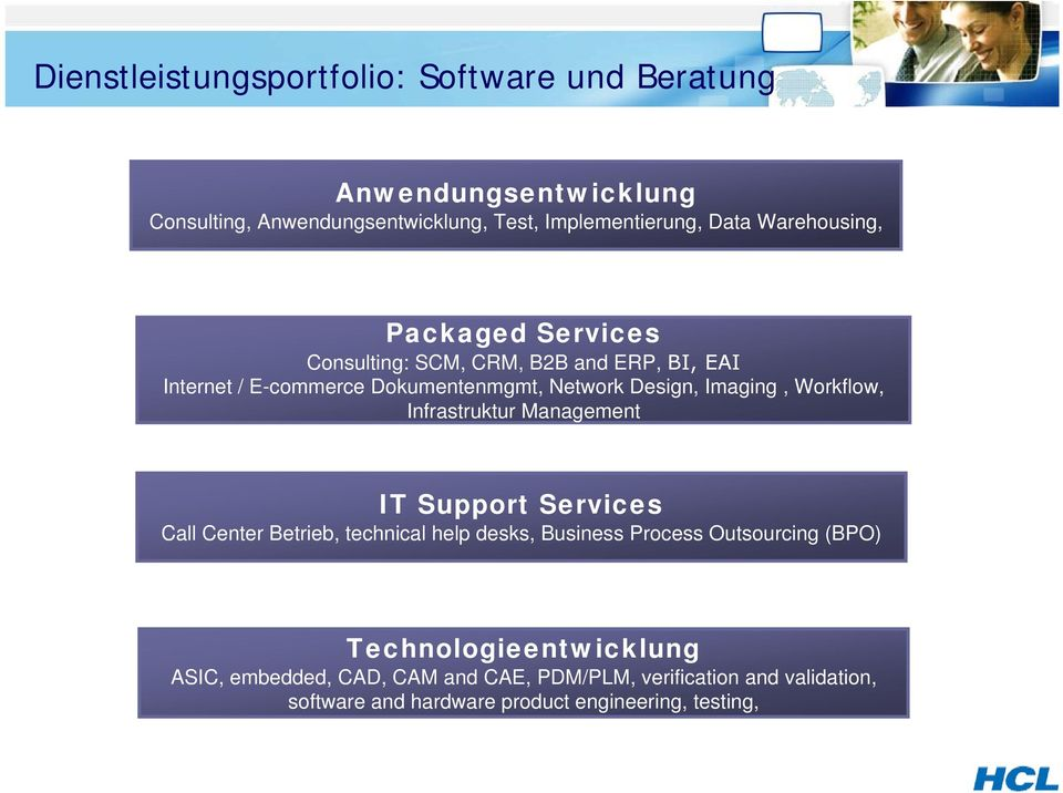 Workflow, Infrastruktur Management IT Support Services Call Center Betrieb, technical help desks, Business Process Outsourcing (BPO)