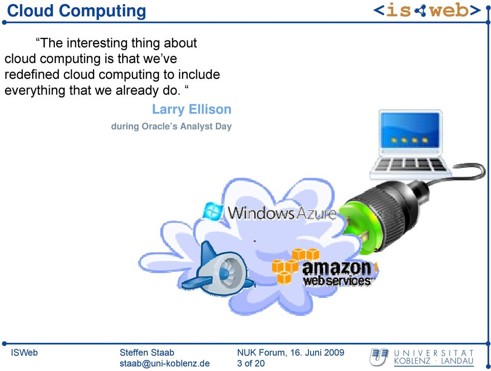 computing to include everything that we already