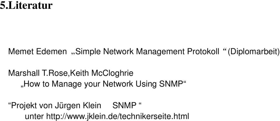 Rose,Keith McCloghrie How to Manage your Network Using