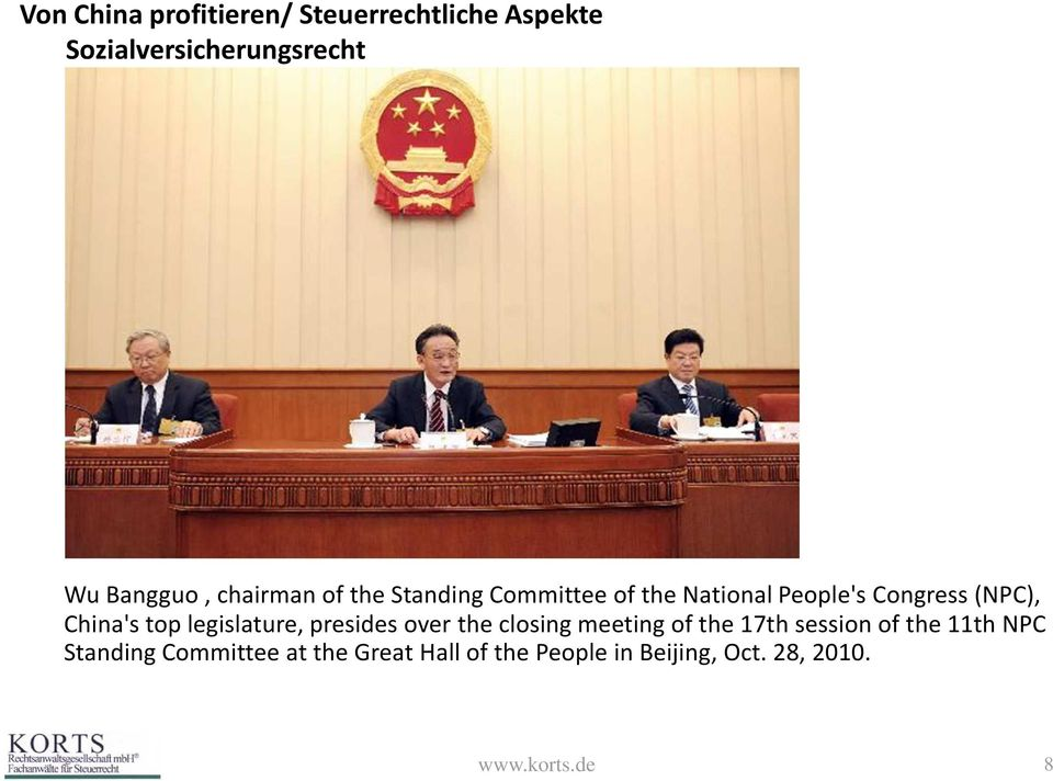 presides over the closing meeting of the 17th session of the 11th NPC