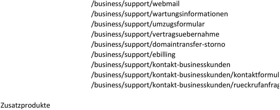 /business/support/domaintransfer storno /business/support/ebilling /business/support/kontakt