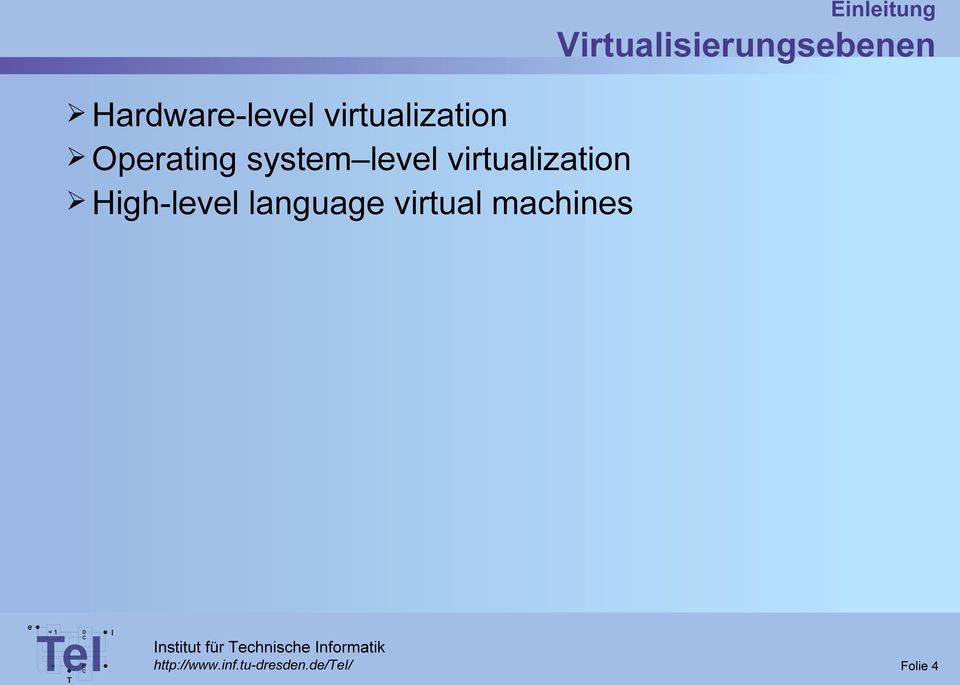 virtualization High-lvl languag virtual machins