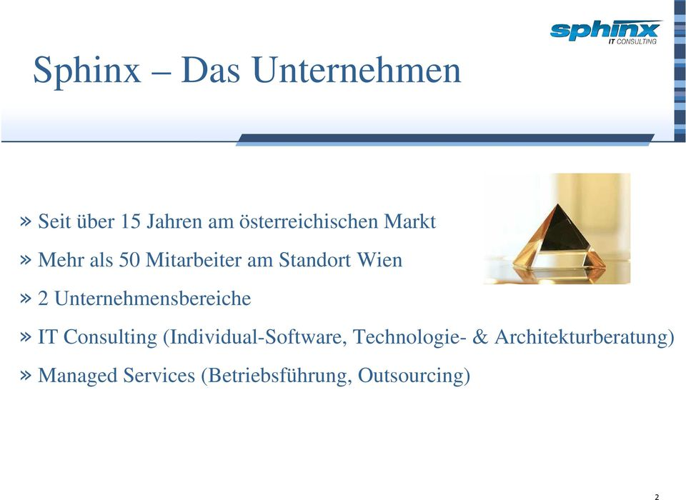 Unternehmensbereiche» IT Consulting (Individual-Software,