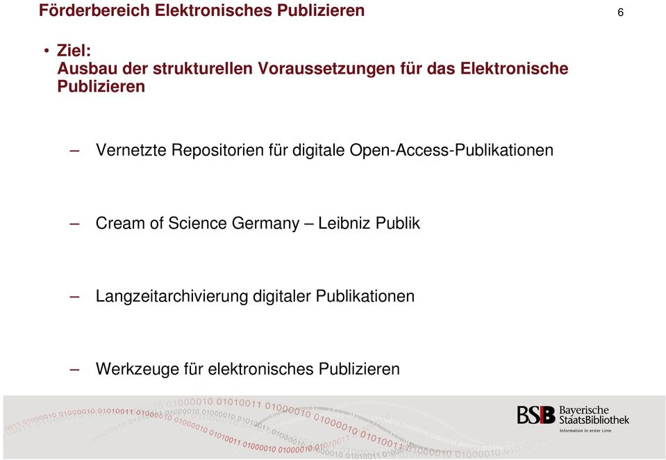 digitale Open-Access-Publikationen Cream of Science Germany Leibniz Publik