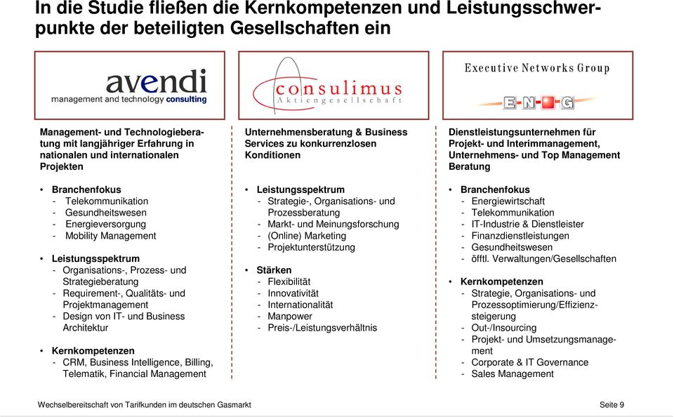 und Projektmanagement - Design von IT- und Business Architektur Kernkompetenzen - CRM, Business Intelligence, Billing, Telematik, Financial Management Unternehmensberatung & Business Services zu