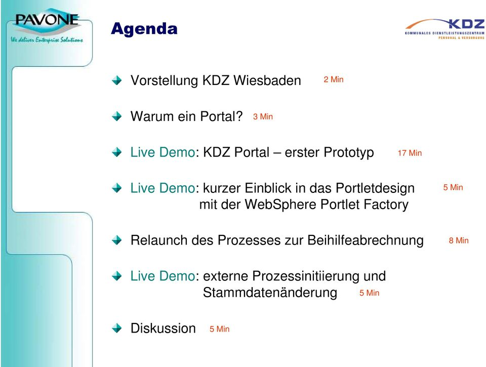 in das Portletdesign mit der WebSphere Portlet Factory Relaunch des Prozesses