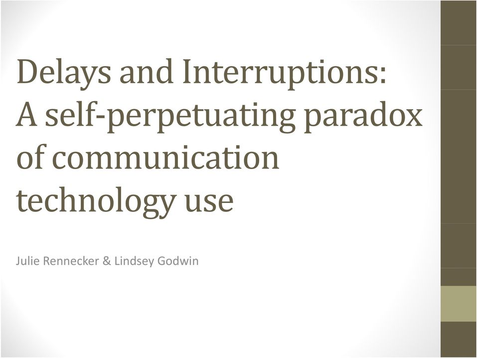communication technology use