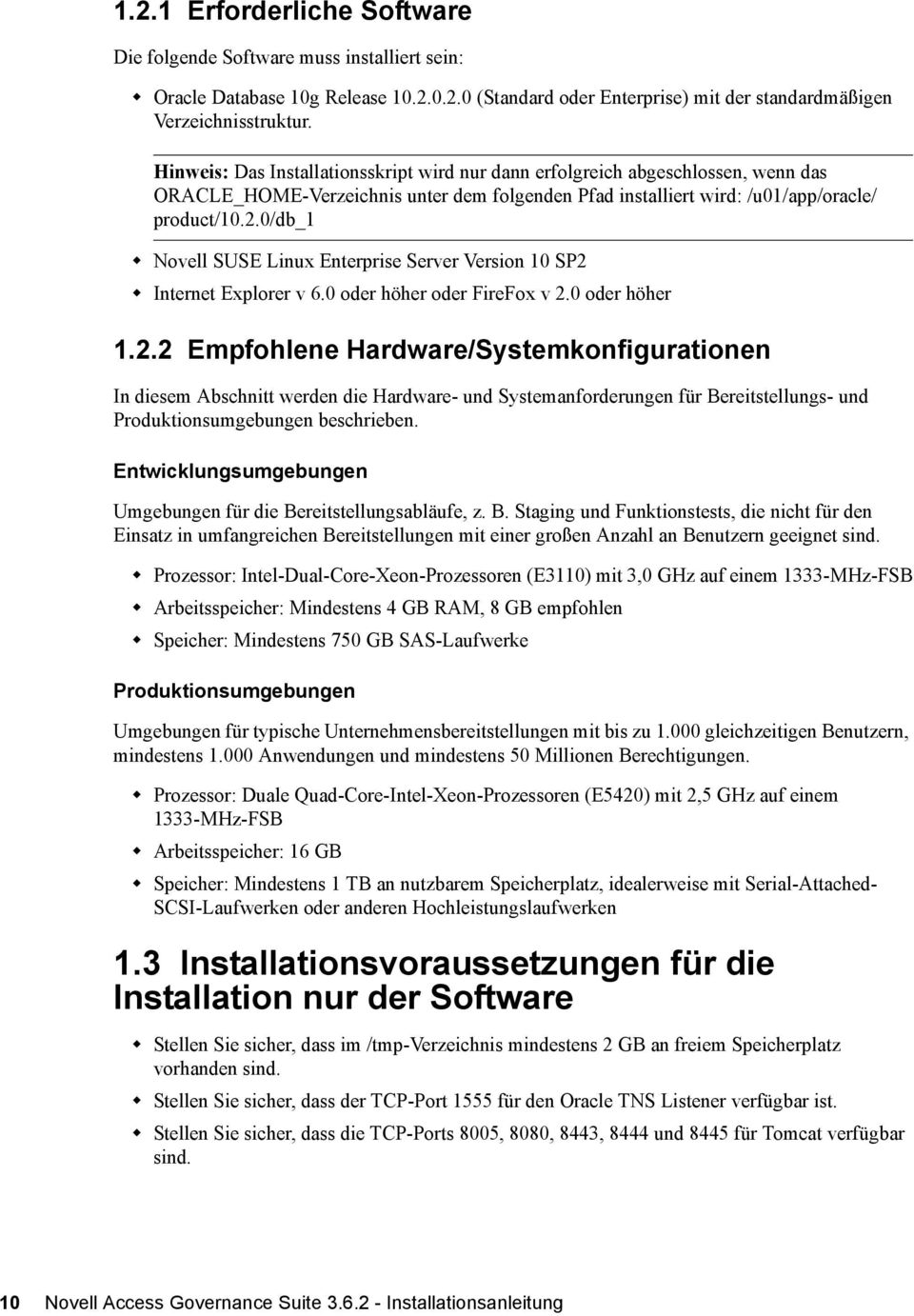 0/db_1 Novell SUSE Linux Enterprise Server Version 10 SP2